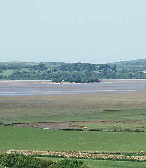 Morecambe Bay with Chapel Island